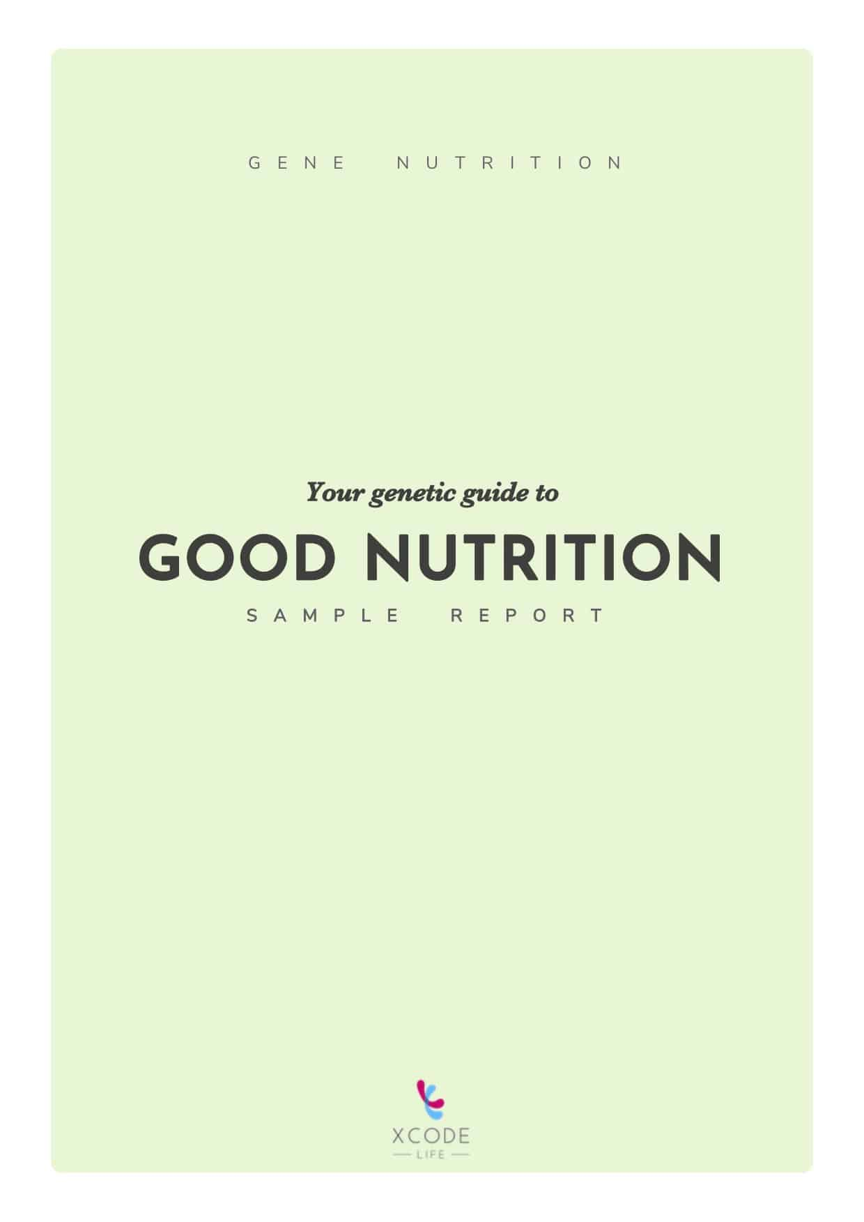 Xcode Nutrition report
